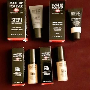 Makeup Forever travel package